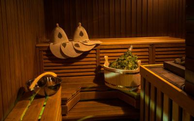 Отделка интерьера бани